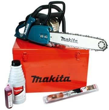 Makita Benzin-Kettensäge 38 cm, (2,2 kW mit Zubehör), EA4300F38CKIT -